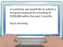 Letter Of Intent Purpose by How To Write A Letter Of Interest For A Grant 10 Steps