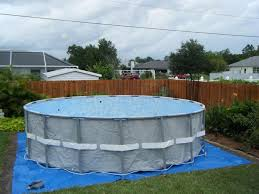 swimming pool above ground swimming pool idea with intex easy