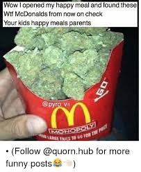 Happy Meal Meme - wow l opened my happy meal and found these wtf mcdonalds from now on