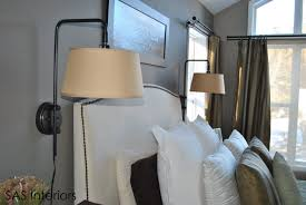 plug in bedroom wall lights trends with best ideas about bedside