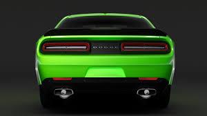 Dodge Challenger Interior Lights - dodge challenger 392 hemi pack shaker widebody 2017 3d model