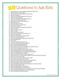 Great Questions To Ask A Crayon Freckles 50 Questions To Ask Plus Free Printable