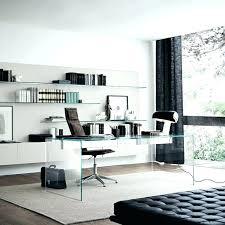 Home Office Glass Desk West Elm Glass Desk Black Metal With Top