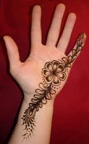 henna flower tattoo on hand 3 tattoos book