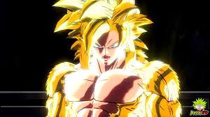 dragon ball xenoverse golden super saiyan 4 goku mod 60fps