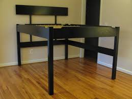 Bed Frame With Wood Legs Black Wooden Bed Frames With Long Legs Combined With High Head