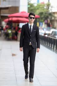 Black Tie Stand Mixer Men U0027s Black Suit White Dress Shirt Black Leather Loafers Black