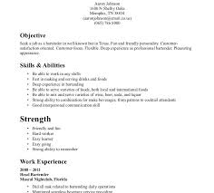 Job Description Of A Bartender For Resume by Luxury Ideas Work In Texas Resume 6 Bartender Resume Description