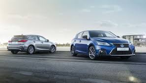 lexus ct or toyota prius lexus ct 200h updated but discontinued in us