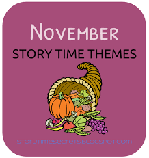 themes for my story story time secrets november story time themes