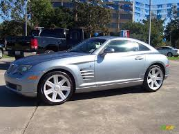 2005 sapphire silver blue metallic chrysler crossfire limited