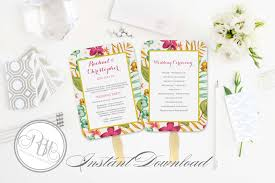 rbh designer concepts tropical watercolor invitation design