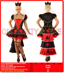 alice in wonderland evil queen of hearts costume with crown