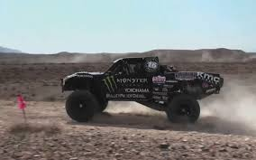 Ford Raptor Monster Truck - feature flick baja trophy truck chases ford mustang boss 302 at