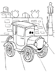 super coloring pages cars color print free