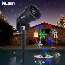 Colored Landscape Lighting Led Moving Multi Colored Snowflake Projector Indoor Outdoor