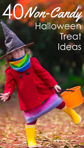 40 alternative non candy halloween treat ideas for kids
