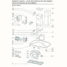 broan e54000 parts list and diagram ereplacementparts com