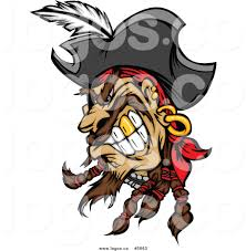 royalty free pirate face stock logo designs