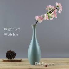 Colored Vases Wholesale Modern Fashion Home Furnishing Small Handmade Ceramic Vases