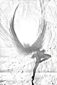 drawn angel fallen angel pencil and in color drawn angel fallen