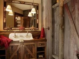 rustic bathroom decorating ideas bathroom 16 rustic bathroom with unfinished wood wall