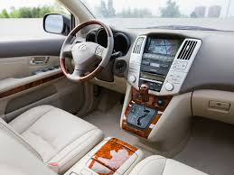 lexus rx 350 interior colors interior lexus rx 350 pebble beach edition xu30 u00272008