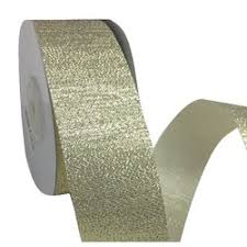 gold metallic ribbon metallic ribbon 38mm x 25m