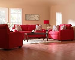 interior design country style red living room with zebra coffee