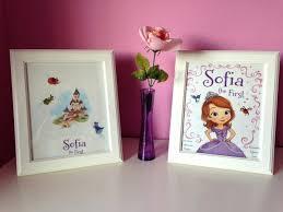 Sofia Decorations Wall Ideas Disney Princess Dream Scene Setter Disney Princess