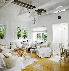 white interiors homes cottage of the week scandinavian cottage home bunch interior