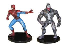 Avengers U0026 Spiderman Cake Topper Hulk Captain America Iron Man 6