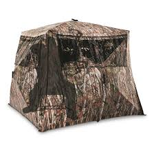 Tree Trunk Hunting Blind Guide Gear Camo Flare Out 5 Hub Ground Hunting Blind 285090