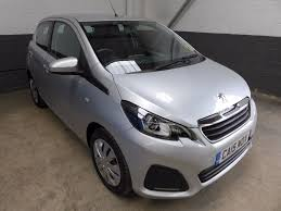 peugeot 108 second hand used peugeot 108 silver for sale motors co uk
