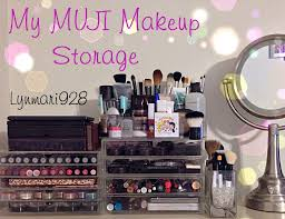 muji makeup storage youtube