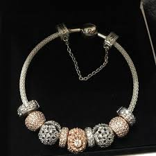 best pandora bracelet images Best pandora bracelet with silver and rose gold charms for sale in jpg