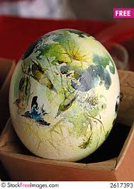 ostrich egg painted ostrich egg painting free stock photos images 2617393