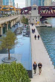 Chicago Riverwalk Map by 2016 Best Of Design Award For Urban Design Chicago Riverwalk
