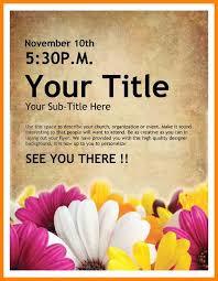 doc 10241324 free printable flyer templates word u2013 8 free word
