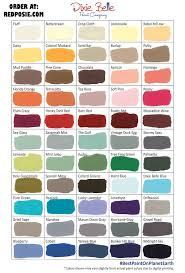 Paint Color 2017 by Dixie Belle Color Chart Dixie Belle Chalk Type Paint Colors