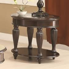 coffee table by coaster in dark merlot w optional tables