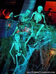 Halloween Skeleton Yard Decorations by 28 Best Halloween Skeletons Images On Pinterest Halloween