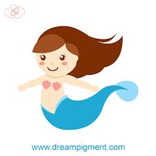 free baby mermaid vector dreampigment deviantart