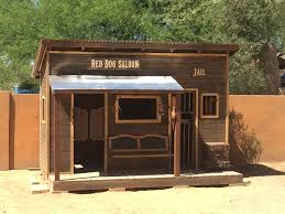 build a western saloon kid u0027s fort with standard fence boards 14