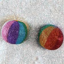 the rainbow ornaments ilovetocreate