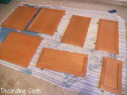 decorating cents how to painting the kitchen cabinets