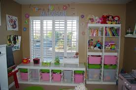 playroom shelving ideas furniture astonishing kids playroom organization ideas with brown