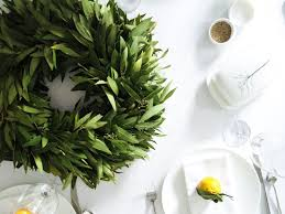 bay leaf wreath try this wreath tutorials hither thither