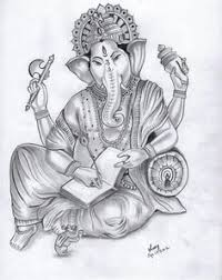 ganapathi pencil drawings lord ganesha pencil sketch ganapathy