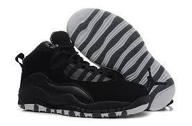 kid jordans kid 10 all black shoes fast worldwide delivery usa cheap